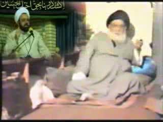 آیة الله خوئی سیگار میکشد و آخوند دانشمند آنرا انکار میکند، عجب تناقضی !