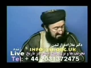 تماس تلفنی بر ضد قزوینی