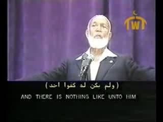هل الانجیل کلمة الله - احمد دیدات و جیمی سواغرت - 4-13