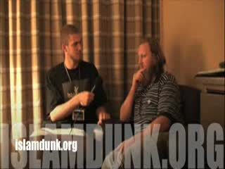 An islamdunk Exclusive Jibreel K interviews Sh. Abdul Raheem Green