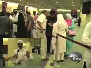 Behind the scenes Islamic Convention with the deen show