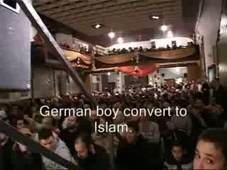 German boy convert to Islam - LIVE