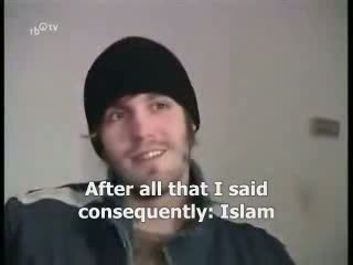 Tv Report -German atheist convert to Islam -English Subtitle