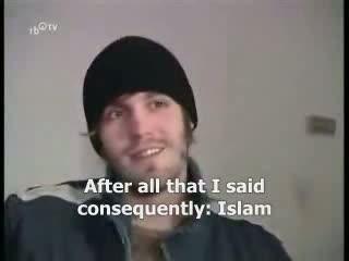 Tv Report -German atheist convert to Islam -English Subtitle