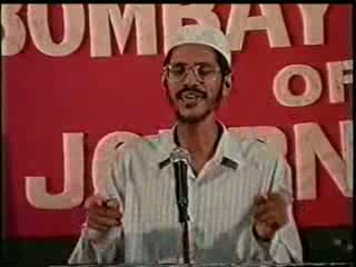 Dr. Zakir Naik- Press Debate- Is Religious Fundamentalism a Stumbling block to Freedom of Expression