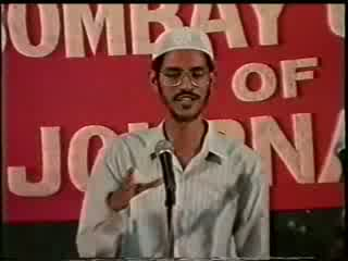 Dr. Zakir Naik- Press Debate- Is Religious Fundamentalism a Stumbling block to Freedom of Expression
