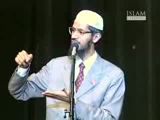Qur'aan and the Bible in the light of science - Dr. Zakir Naik vs Dr. William Campbell Part-3-15