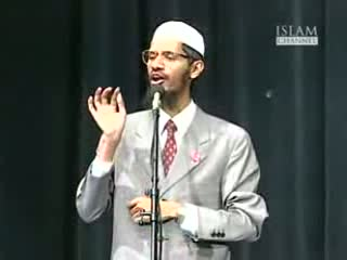 Qur'aan and the Bible in the light of science - Dr. Zakir Naik vs Dr. William Campbell Part-12-15
