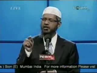 Dr. Zakir Naik - Peace Conference 2007 - Is Qur'an God's Word  Part 3-21