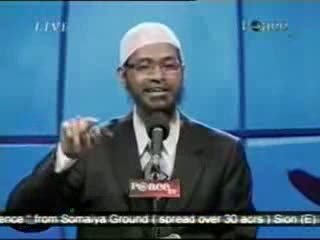 Dr. Zakir Naik - Peace Conference 2007 - Is Qur'an God's Word  Part 5-21
