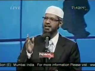 Dr. Zakir Naik - Peace Conference 2007 - Is Qur'an God's Word  Part 7-21