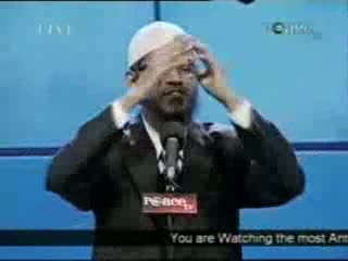 Dr. Zakir Naik - Peace Conference 2007 - Is Qur'an God's Word  Part 8-21