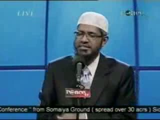 Dr. Zakir Naik - Peace Conference 2007 - Is Qur'an God's Word  Part 11-21