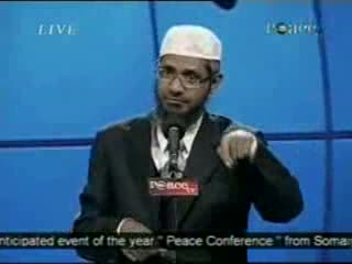 Dr. Zakir Naik - Peace Conference 2007 - Is Qur'an God's Word  Part 18-21