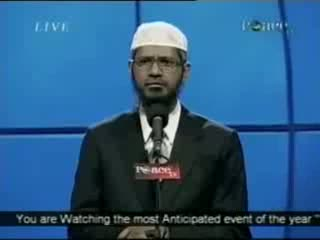 Dr. Zakir Naik - Peace Conference 2007 - Is Qur'an God's Word  Part 21-21
