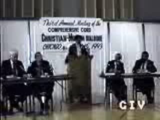 Jamal Badawi - Human Rights in Islam & Christianity 8 of 17