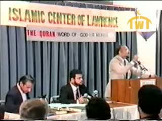The Qur'an word of God or Muhammad - Dr. Jamal Badawi - Part 4 of 8