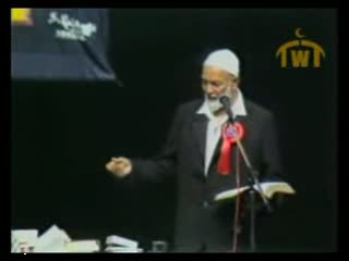 Ahmad Deedat vs Anis Shorrosh... Debate Quran or the Bible   Q and A Session 8 of 18