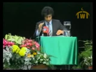 Ahmad Deedat vs Anis Shorrosh... Debate Quran or the Bible   Q and A Session 9 of 18