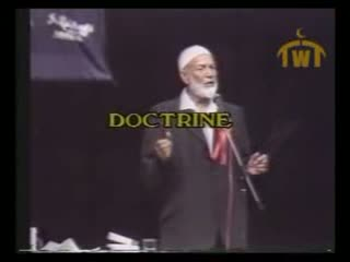 Ahmad Deedat vs Anis Shorrosh... Debate Quran or the Bible   Q and A Session 13 of 18