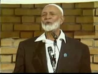 Is Jesus God - Ahmed Deedat Vs Eric Bock 6 of 13