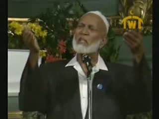 Is Jesus God  Debate between Ahmed Deedat (Muslim) VS Paster Sjoberg (Christian) 2 of 11