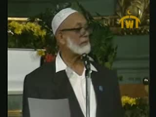 Is Jesus God  Debate between Ahmed Deedat (Muslim) VS Paster Sjoberg (Christian) 3 of 11
