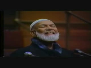 Is Jesus God Ahmed Deedat vs Anis Sorrosh 2 of 12