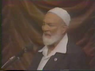 Islam And Christianity - Ahmed Deedat VS Van Rooy Part 5-17
