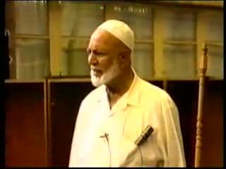 Jum'uah Talk - by Sheikh Ahmed Deedat Part 2-5)