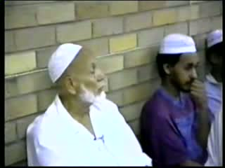 Jum'uah Talk - by Sheikh Ahmed Deedat Part 5-5