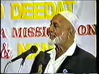 Man And God - Sheikh Ahmed Deedat Part 3-11