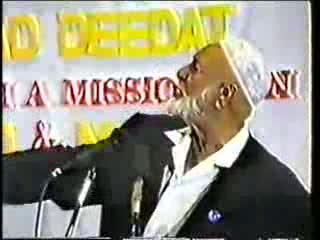 Man And God - Sheikh Ahmed Deedat Part 4-11