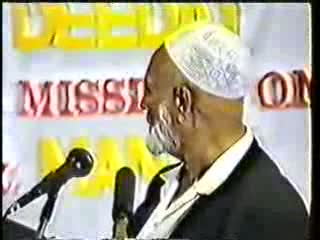 Man And God - Sheikh Ahmed Deedat Part 9-11