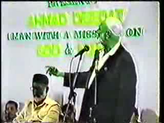 Man And God - Sheikh Ahmed Deedat Part 11-11