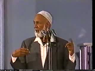 Role Of The Mosque In The West - Sheikh Ahmed Deedat Part 2-7