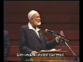 Sheikh Ahmed Deedat-How Rushdie Fooled the West Part 1-12
