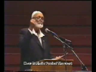 Sheikh Ahmed Deedat-How Rushdie Fooled the West Part 8-12