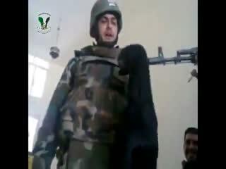 شکنجه حیوانات توسط ارتش بشار