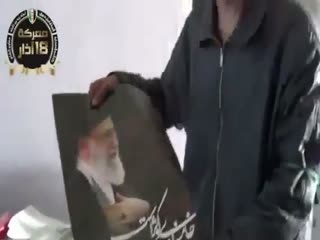 غنایمی که نشانه حضور حزب الله در سوریه است