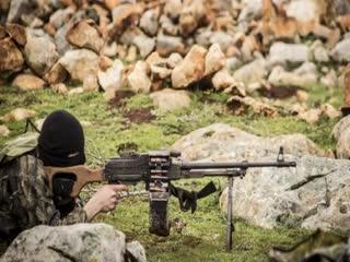 سقوط موشک بر سر یک افسر اسد!