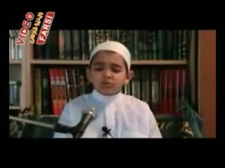 قرائت قرآن توسط شیخ الصغیر حماد امین