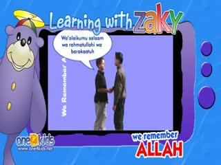 هنگام ملاقات یک مسلمان