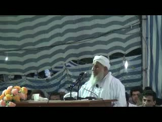 سخنرانی مولانا نظر محمد دیدگاه در ختم بخاری 1391
