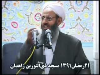 سخنرانی مولانا عبدالحمید در ختم قرآن مسجد ذی النورین