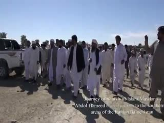 A flash of Shaikh Abdol-Hameed's trip to S. Baluchistan