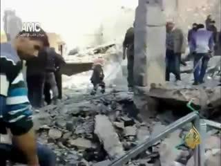 کشتار وحشیانه مردم حلب به دست بشار