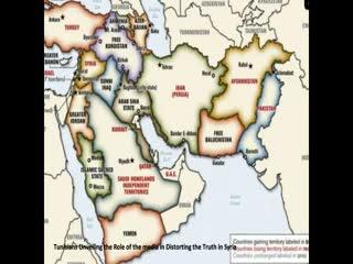 نقشه آینده خاورمیانه و کشورهای عربی