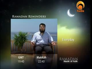 Huda Tv - Ramadan Reflections - Shaikh Issa Asha - Episode 3