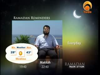 Huda Tv - Ramadan Reflections - Shaikh Issa Asha - Episode 4